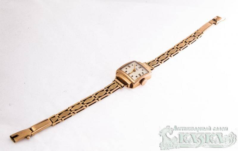 Часы Luch женские позолоченные в Лобне. Дешевые часы