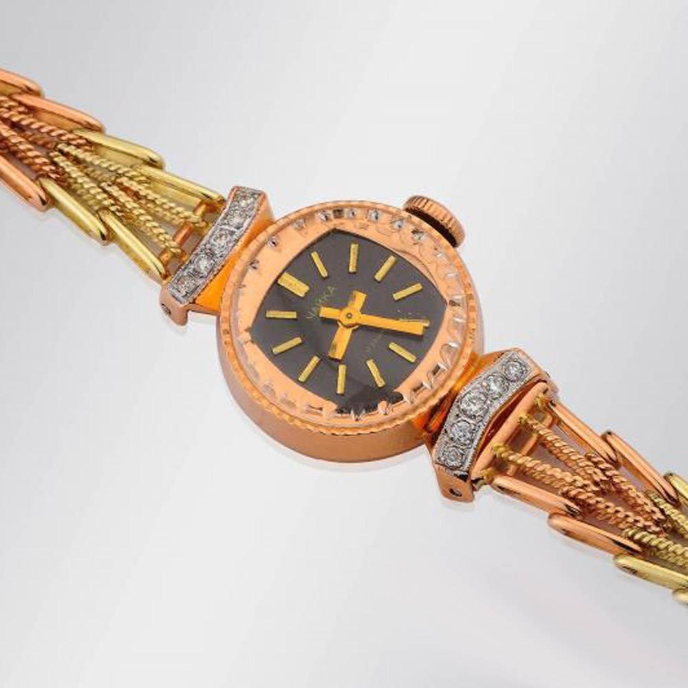 Антикварные наручные часы золотые guanqin мужские часы купить