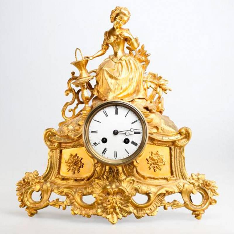 Антикварных каминных часов стоимость картье москве часы продать в