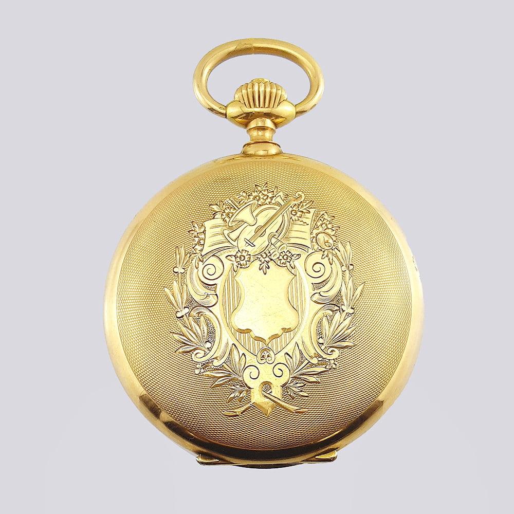 Купить антикварные карманные часы в Москве